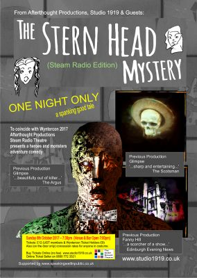 Stern Head Mystery Poster